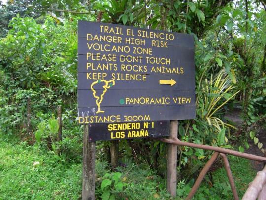 Danger: Volcano